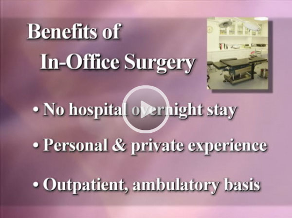 Watch Video: Dr. Jacobs-Plastic Surgery Center