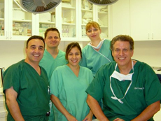 Dr. Jacobs and his team