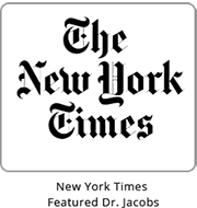 The New York Times - Featured Dr. Jacobs